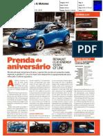 """NOVO RENAULT 1.5 dCi 90 GT LINE NA """"CARROS & MOTORES"""""""