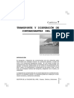 Trasporte y Dispersion de Contaminantes