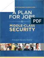 Jobs Plan Booklet From the Obama 2012 Campaign