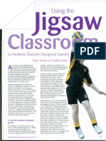 Using the Jigsaw Classroom, by Peter Hastie and Ashley Casey