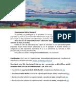 Cercetare Delta Dunarii