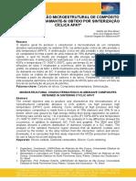 CARACTERIZAÇÃO MICROESTRUTURAL DE COMPÓSITO ABRASIVO DE DIAMANTE-Si OBTIDO POR SINTERIZAÇÃO CÍCLICA APAT