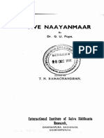 Five Naayanmar by G.U.Pope