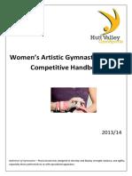 Artistic Gymnatics Handbook