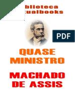 Quase Ministro, de Machado de Assis