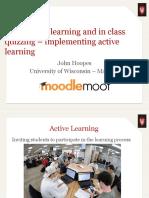 Presentation Slides Active Quiz