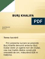 Prezentare Burj Khalifa