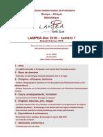LAMPEA-Doc 2016 – numéro 1 / Samedi 9 janvier 2016