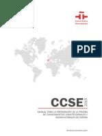Manual de La Prueba CCSE - Notilogía Esp