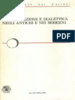 Enrico Berti Contraddizione e Dialettica Negli Antichi e Nei Moderni