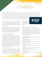Los Chakras Yoga Letter Especial 13
