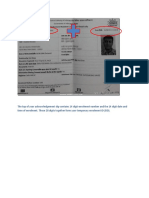 Sample Aadhaar Enrolment ID