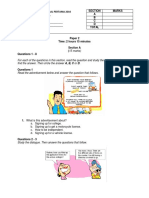English Exam Form 4 Paper 2
