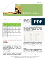DBLM Solutions Carbon Newsletter 13 Aug 2015