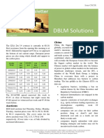 DBLM Solutions Carbon Newsletter 27 Aug 2015
