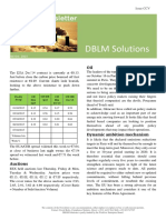 DBLM Solutions Carbon Newsletter 08 Oct 2015