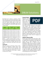DBLM Solutions Carbon Newsletter 15 Oct 2015