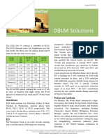 DBLM Solutions Carbon Newsletter 22 Oct 2015