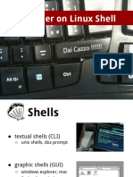 A primer on Linux Shell