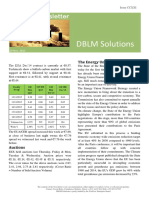 DBLM Solutions Carbon Newsletter 19 Nov 2015