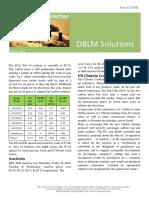 DBLM Solutions Carbon Newsletter 10 Dec 2015