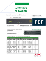 APC Aotomatic Transfer Switch