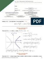 Cálculo 1 -edo Cap.xxv Hiperbolico