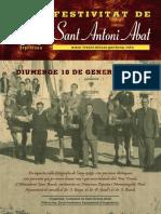 Sant Antoni Abat, Revista 2016.
