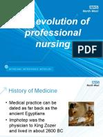 05. The evolution of professional nursing.ppt