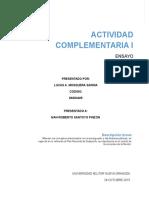 ACTIVIDADES 1 de Presupuestos y Finanzas Públicas