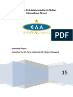 Pakistan Civil Aviation Authority Report