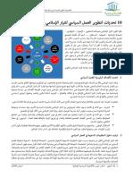 10 تحديات لتطوير العمل السياسي للتيار الإسلامي