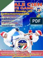 Natale CSEN Karate Games