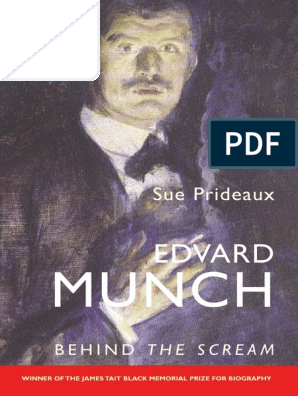 Edvard Munch Behind The Scream Canvas Oil Painting