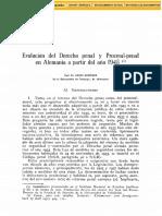 Dialnet-EvolucionDelDerechoPenalYDerechoProcesalEnAlemania-2770975