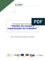 Manual de Gestão de Tempo e organização do Trabalho