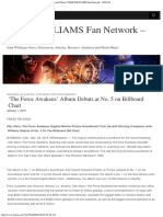 'the Force Awakens' Album Debuts at No. 5 on Billboard Chart _ JOHN WILLIAMS