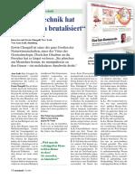 Raum & Zeit - 117/2002 - Die Gentechnik Hat Das Denken Brutalisiert