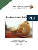 Diseño de Mezclas de Concreto [Ing. Samuel Laura Huanca]