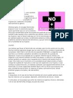 Feminicidio en guatemala