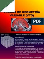 Turbocompresor de Geometria Variable VTG