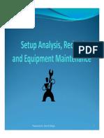 3-Setup Analysis and Reduction