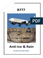 B777-Anti Ice and Rain