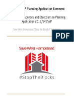 save west hampstead - stop the blocks - planning application no 2015-6455-p - comments