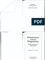 (Convergences_ Inventories of the Present) Ranajit Guha-Dominance Without Hegemony_ History and Power in Colonial India (Convergences_ Inventories of the Present)-Harvard University Press (1998)