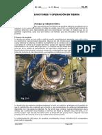 Verificacion de un motor de turbina de gas