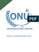 Edital Administrativo XIV Onu Jr