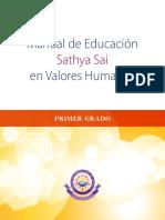 Manual de Educación Santhya Sai en Valores Humanos