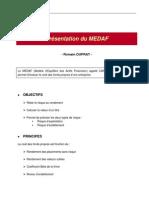 Présentation du MEDAF