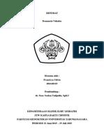 Geriatri - Referat Demensia Vaskular